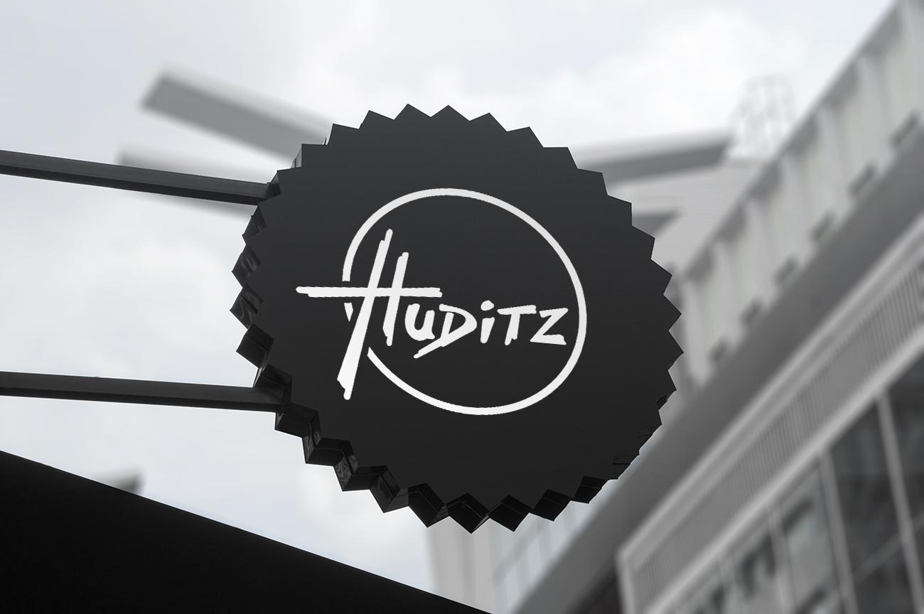 Huditz Sign Mockup